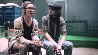 Les étudiants de l'École supérieure de théâtre sur scène