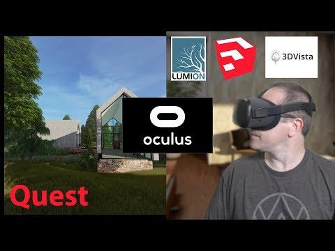 Create Lumion 360 3d Hotspots For Oculus Quest Virtual World