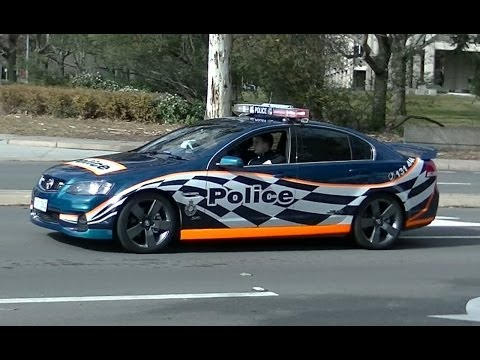 Motorcade of the Prime Minister of Japan in Canberra