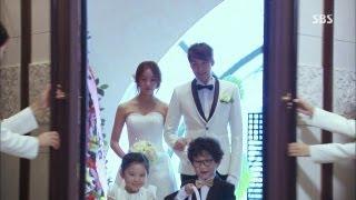 정겨운-정유미, 위기 극복 결혼식 올려 @원더풀 마마 45회