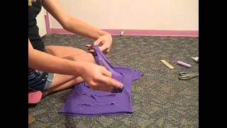 How To Make A Bow Back Shirt! No Sewing! Inspired By Macbarbie07