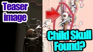 Child skull found in teaser image? five nights at freddy