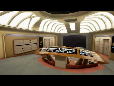 Stage 9 - Exploring the Enterprise D in Unreal Engine 4
