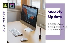 Weekly Update for February 19th-25th | Adobe Muse CC | Muse For You