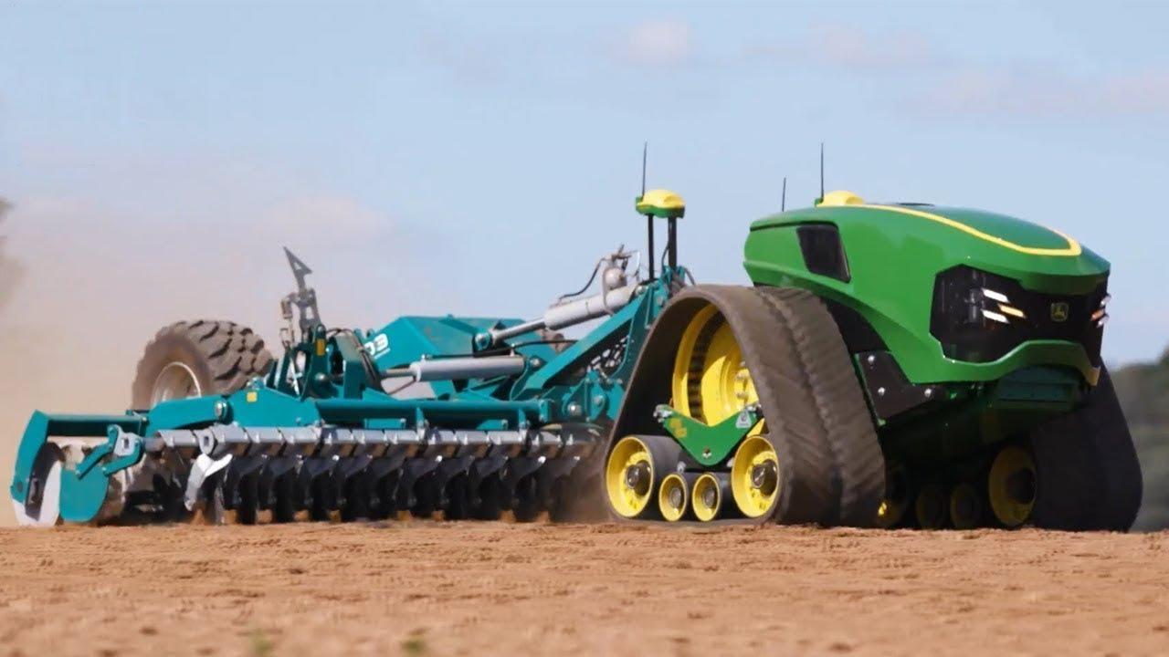 最高レベルの農業機械が凄すぎる・・・!
