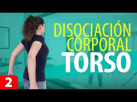 Cómo DISOCIAR el TORSO   Disociación Corporal #2   Movimientos de Torso