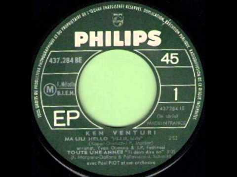KEN VENTURI - MA CHANCE EST REVENUE (My Ship Is Coming In) - EP PHILIPS 437 284 BE