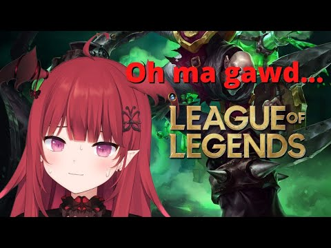【League】except I'm NOT ALLOWED TO BACK
