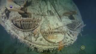Подводная съемка затонувших кораблей