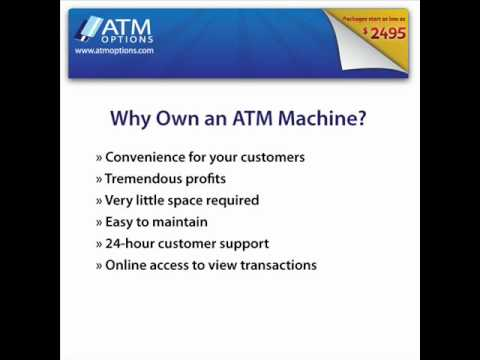 how to own atm machine