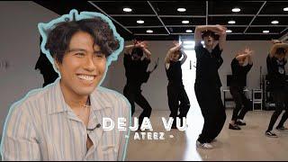 Performer Reacts to Ateez 'Deja Vu' Dance Practice   ANALYSIS   Jeff Avenue