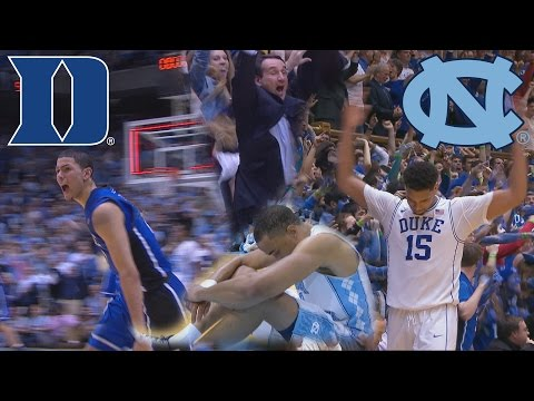 Duke And UNC's Epic Finishes Of The Last Five Seasons