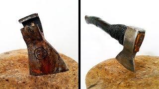 Old Broken Axe Restoration