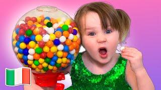 Cinque Bambini - Storia di caramelle nocivi per bambini