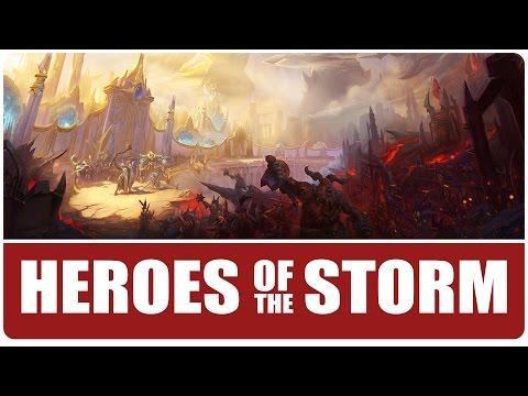 видео: heroes of the storm | БОЛЬШОЙ ПУШ