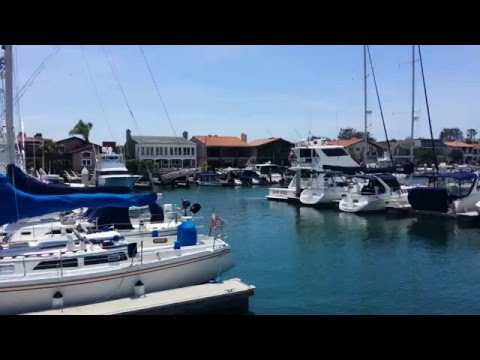 Newport Beach Coast - Marine Bay - Balboa Marina- Pacific Coast Hwy