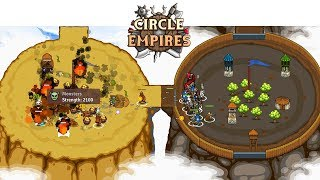 Hard Mode Victory With Dragon Breath - Circle Empires Gameplay