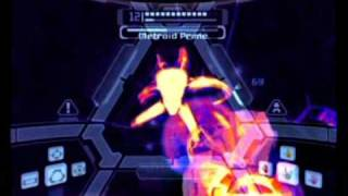 Metroid Prime 100% Walkthrough Part 53 - Final Boss Battle Metroid Prime Form 2