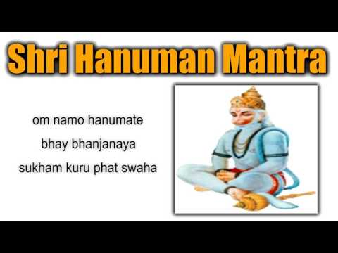 hanuman mantra to remove black magic   108 times mantra chanting   om namo hanumate bhaybhanjanaya 1