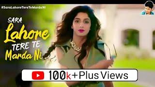 Sara Lahore Tere Te Marda Ni Song | WhatsApp Status | Jawani Phir Nahi Ani 2 | Fahad, Humayun, Mawra
