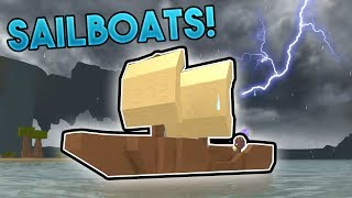 SAILBOATS AND WEATHER! | ROBLOX: Booga Booga