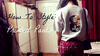 How to Style Printed Pants Thumbnail