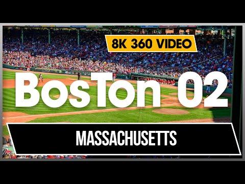 4K 8K 360 VR Video 02 Boston Massachusetts New York City NYC USA City Walk 4K Jonnysbazar Dhyogo