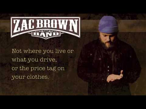 Zac Brown Band - Chicken Fried Lyrics