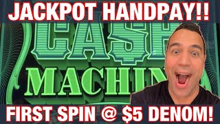 CASH MACHINE $10 & $50 BETS!!  JACKPOT HANDPAY!!! 💰👑🤑