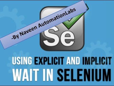 Implicitly Wait v/s