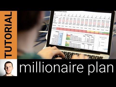 Create Your Million Dollar Plan: Net Worth Projection Spreadsheet Tutorial (Google Sheets)