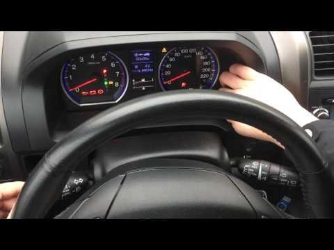 видео: Самодиагностика приборной панели honda cr-v 3 2010