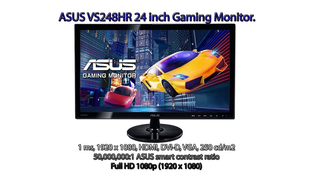 Asus - VS248HR - Gaming Monitor - 24'' FHD -  Unbox - PT