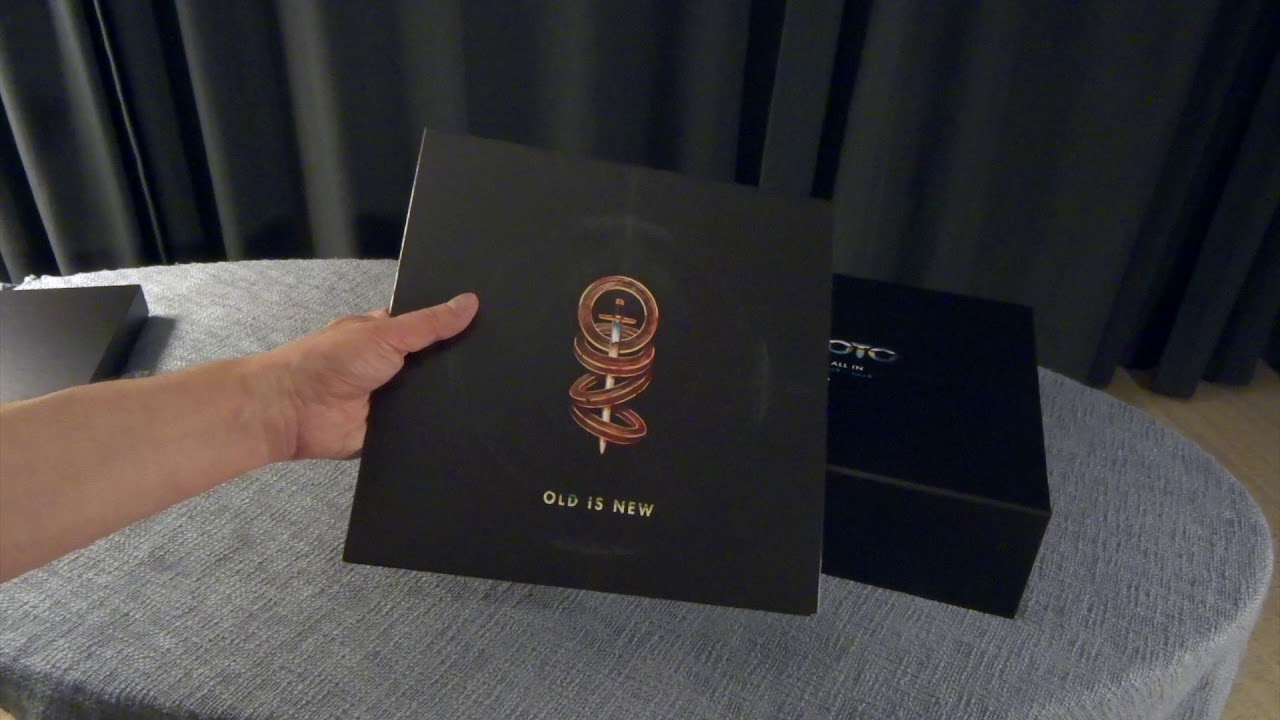 Toto - All In - Vinyl CD boxset Unboxing Video