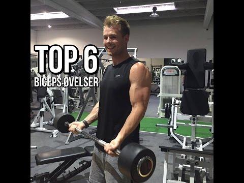 Top 6 Biceps Øvelser
