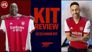 Arsenal 2021/22 Home Kit Review