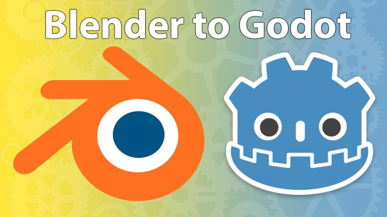 How To Get 3D Models From Blender into Godot