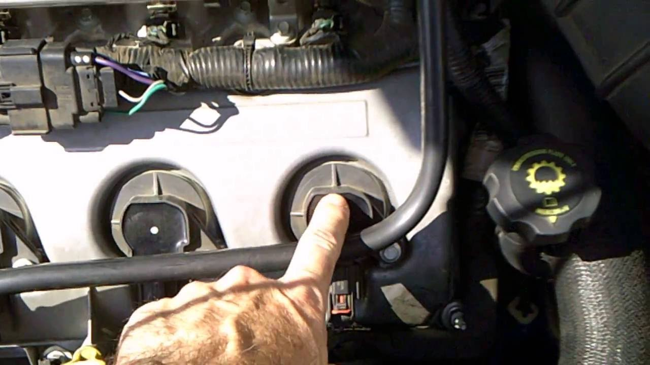 2008 Tahoe Fuel Filter Location 2008 Ford Taurus X Sel Transmission Clunk Youtube