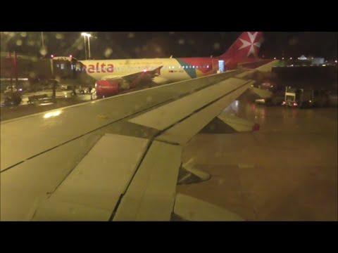 British Airways A319 Night Departure From Hamburg