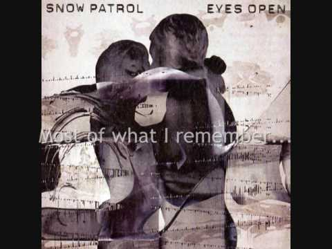 Snow Patrol - You Could Be Happy (instrumental and lyrics)