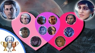 Mass Effect Andromeda All Romances Guide - Matchmaker - All 14 Possible Romances & Relationships