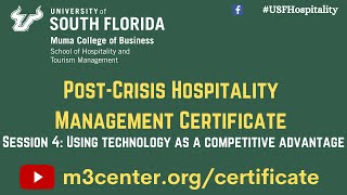 Post-Crisis Hospitality Management Certificate- Session 4