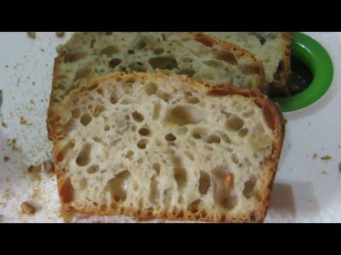 Brot mit Lievito Madre knusprig luftig locker Hammer !