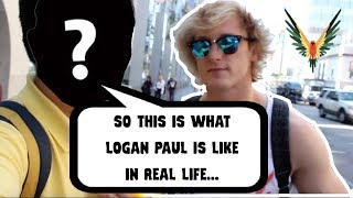 What Logan Paul Is Like In REAL LIFE *Outside Of The Vlogs*