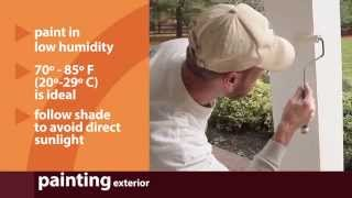 Painting & Touch Up Tips    Sherwin-Williams