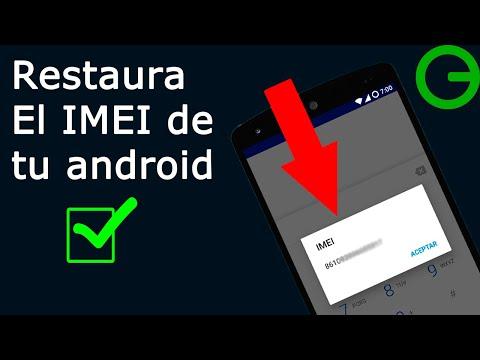 Como Restaurar O Cambiar El IMEI De Nuestro Teléfono Android || 3 Formas