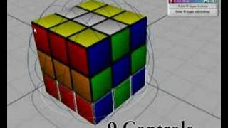 Maya - MEL Script apply for controlling Rubik