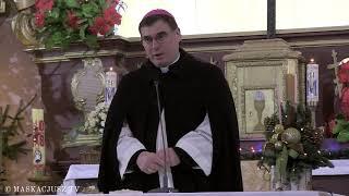 Bp Marek Marczak na zakończenie nabożeństwa ekumenicznego w kościele polskokatolickim
