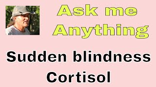 SARDS ask me anything sudden blindness and proposed therapy