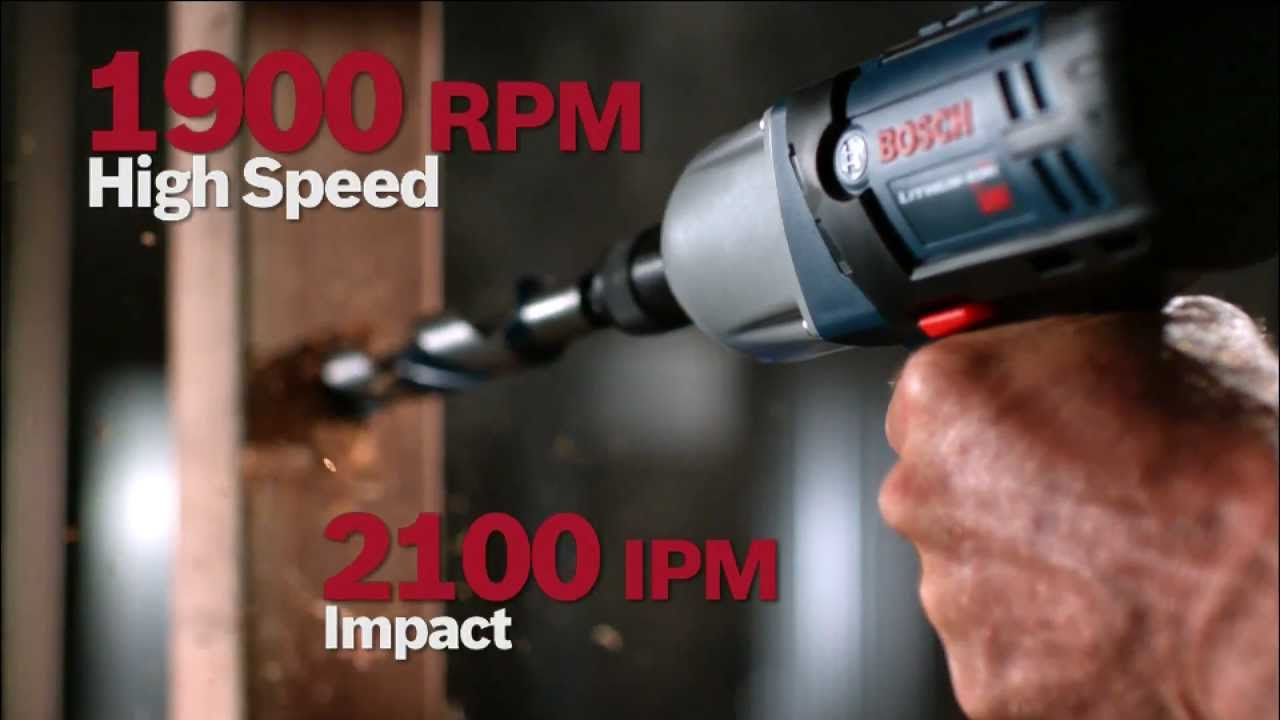 Bosch Tools High Torque Impact Wrench Family Product Video